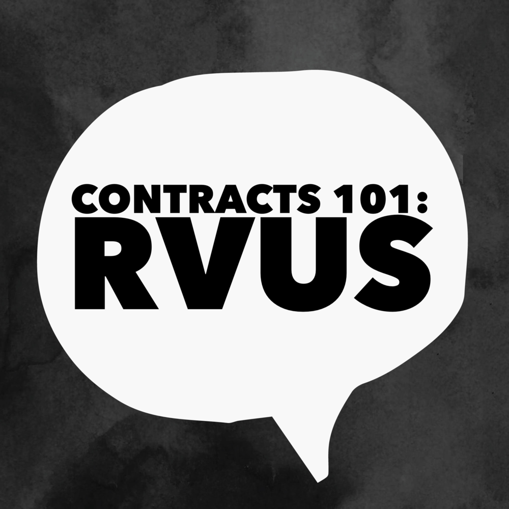 Guest Post Contracts 101 Understanding Relative Value Units Rvus