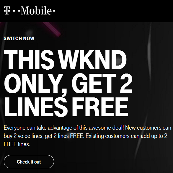 DEAL: B2G2 FREE @ T-Mobile (11/18-11/20/2016) — Future Proof
