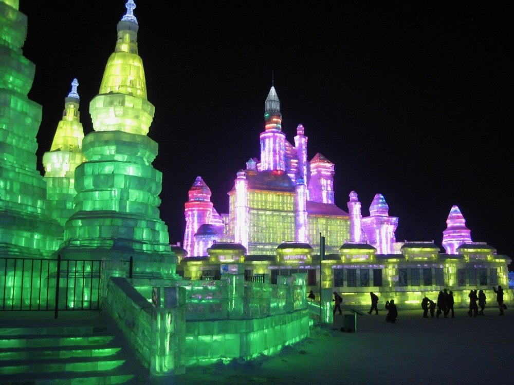 Photo of the  Harbin Ice & Snow Festival  (2011) from my personal collection.