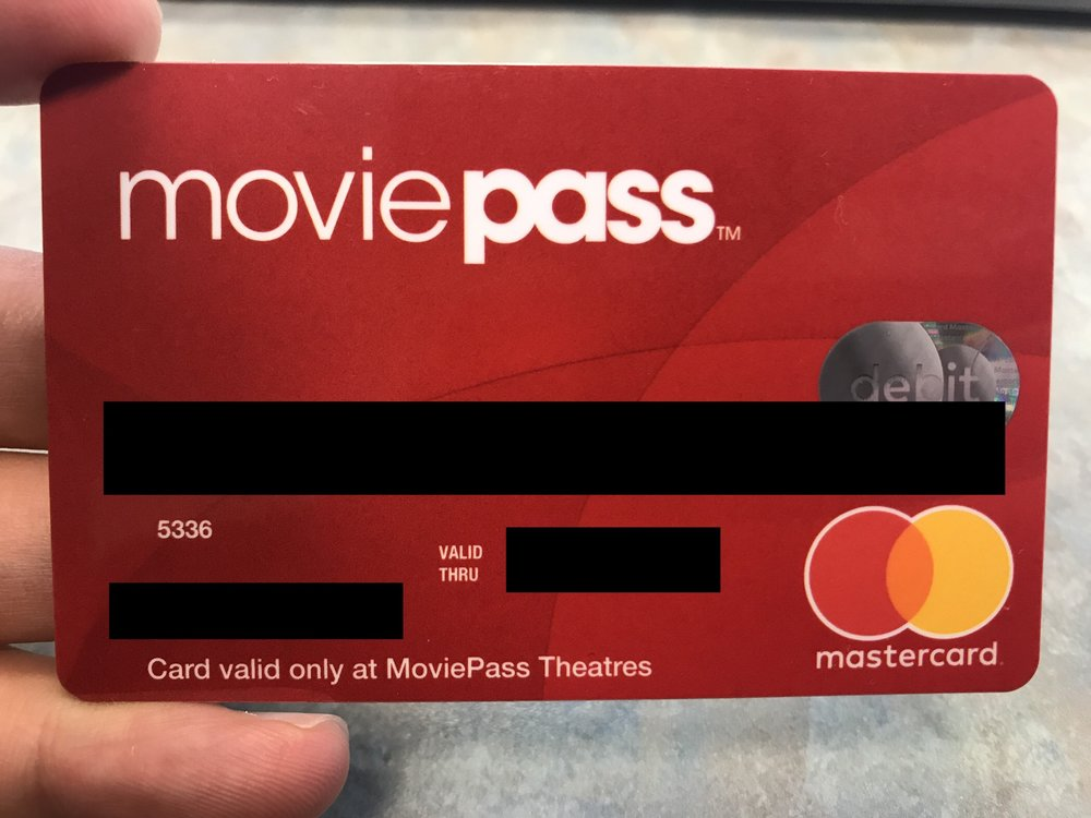 MoviePass Debit Mastercard