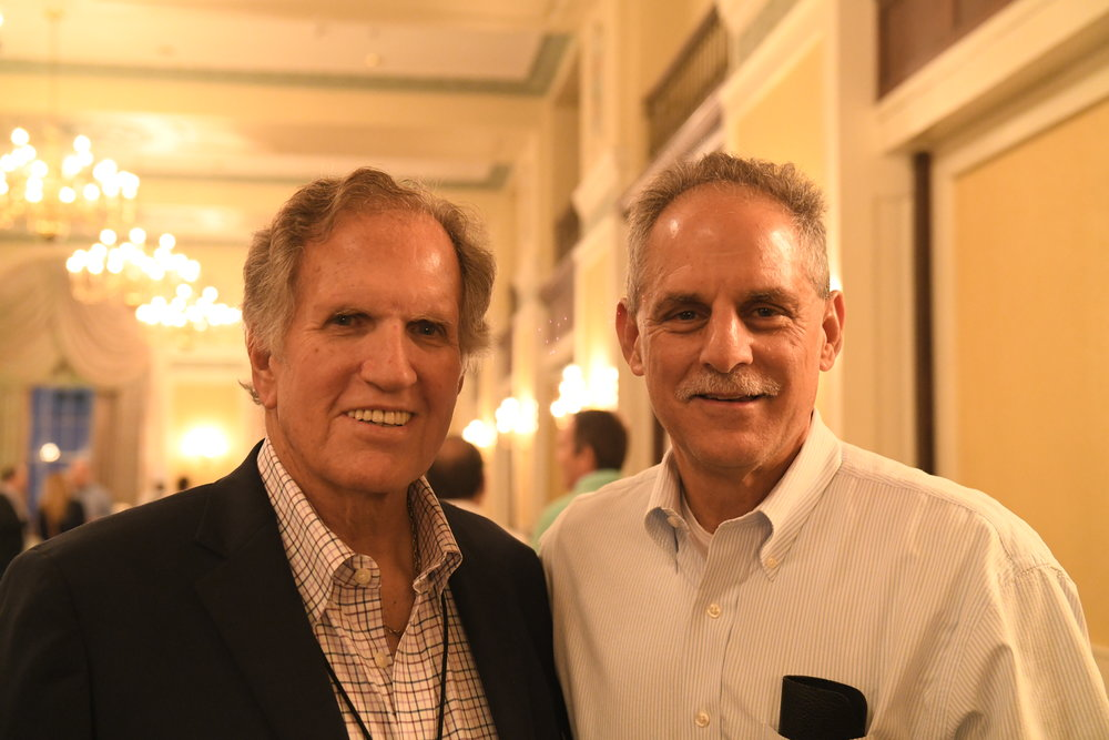 Dr. Barry Katzen and James Benenati