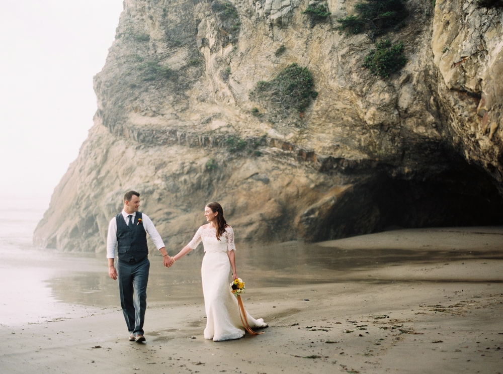 Cannon Beach Oregon Coast Wedding Elopement Photographer