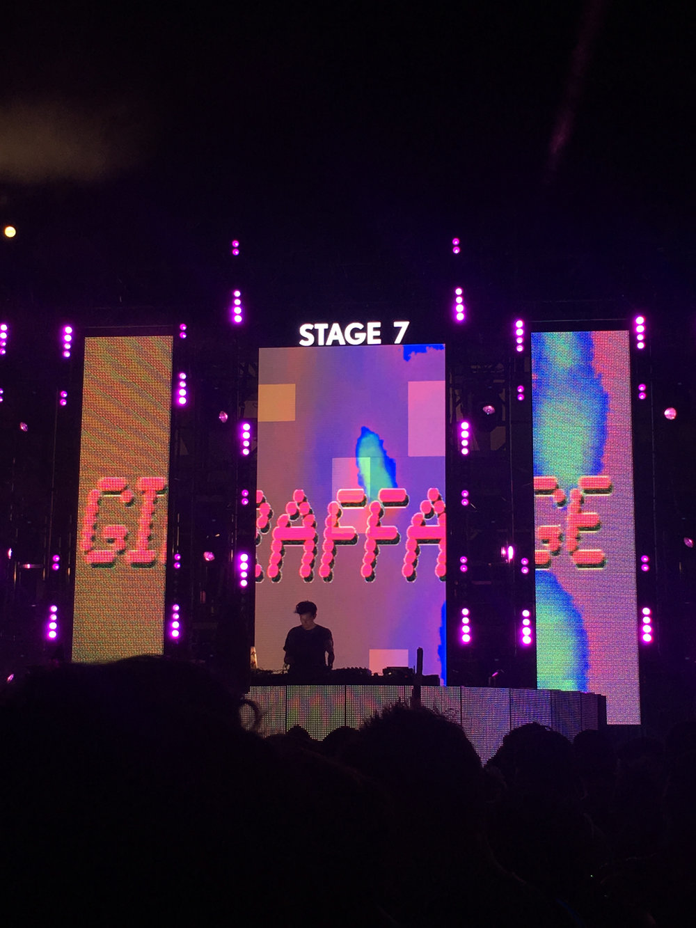 Giraffage at 7-Up Stage