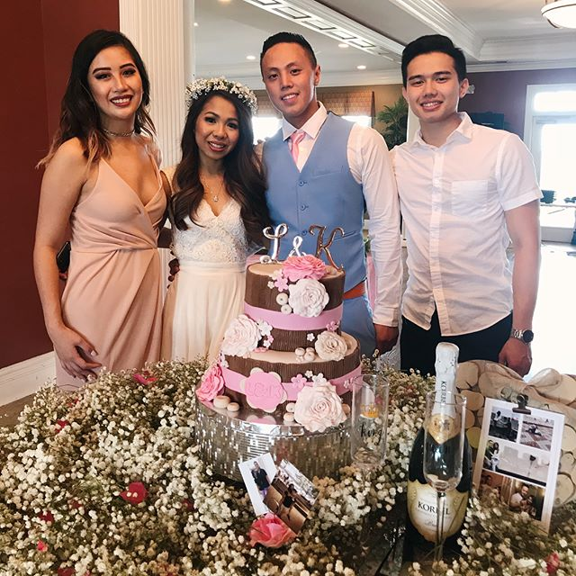 Congratulations on the engagement for @kevinewgen & Lilly!  Thanks for having us 💕