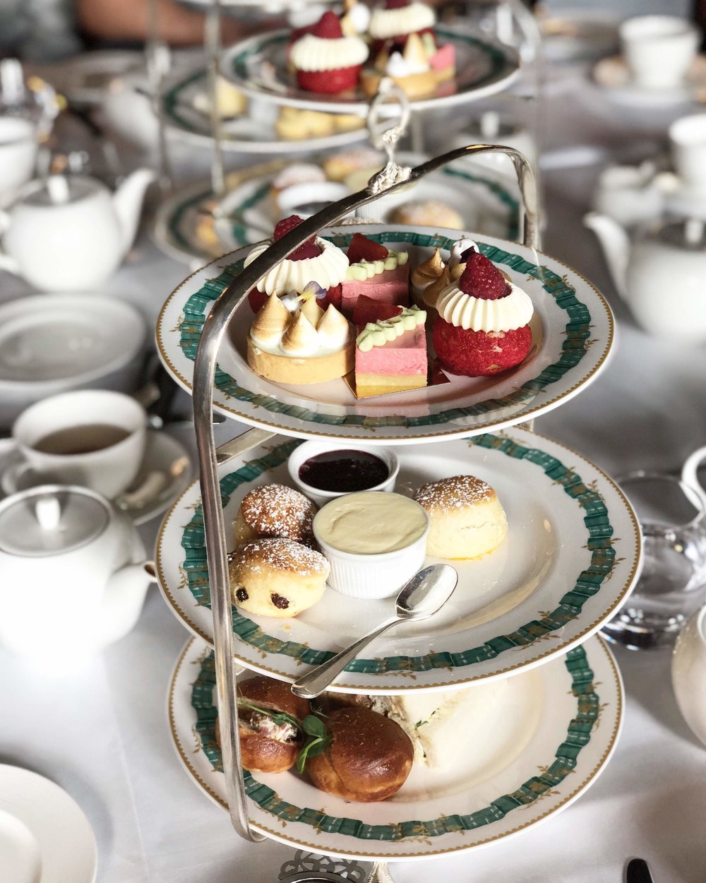 Tea at the Cliveden House