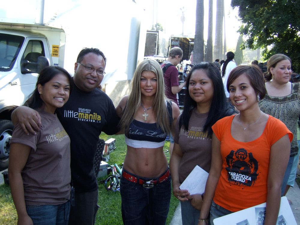 Fergie from the Black Eyed Peas plays a taxi-dancer in Bebot: Generation One directed by Patricio Ginelsa.
