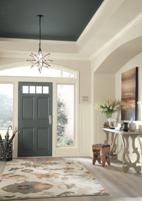 A welcoming entryway