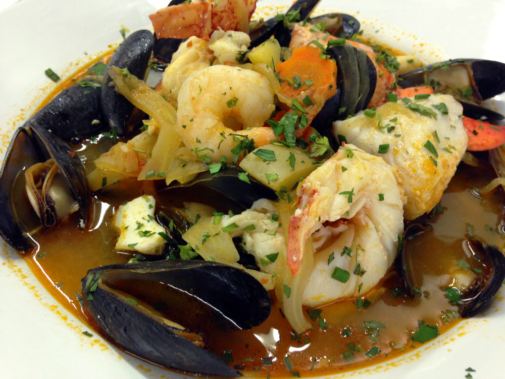 My team's bouillabaisse