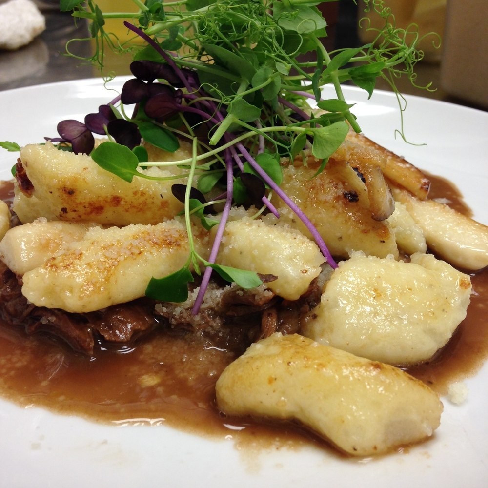 The gnocchi special I helped make at 51 Lincoln