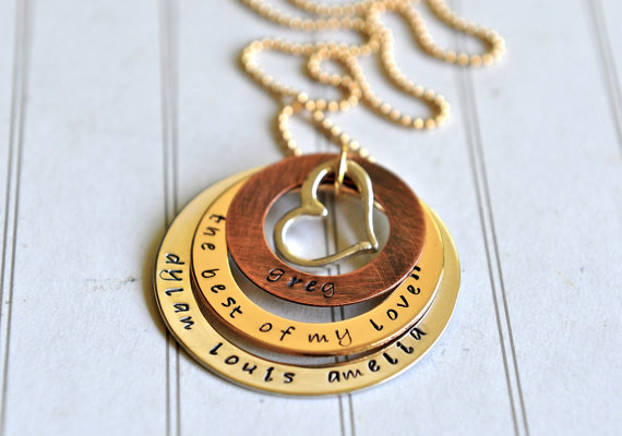 Personalized jewelry on Etsy