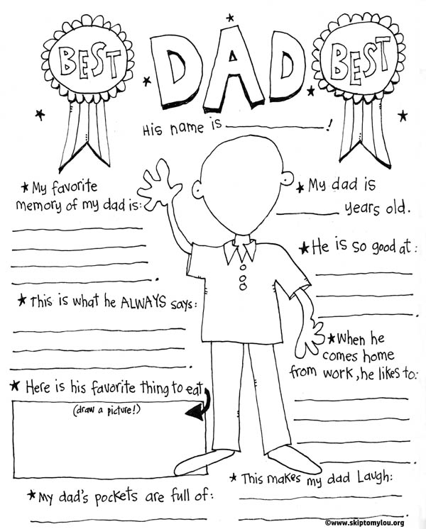 From: http://www.skiptomylou.org/fathers-day-coloring-page/