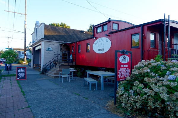 Tea Chai Te  caboose tea shop