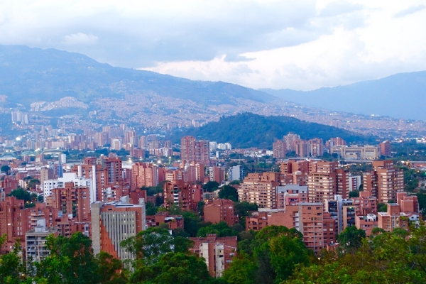 Medellín cityscape
