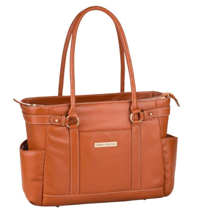 "Shop  Hawthorne Leather laptop handbag 17.3"""