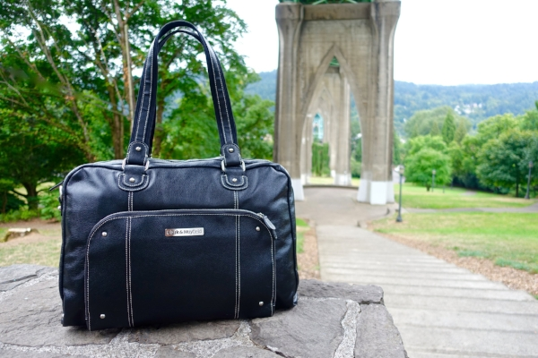 St. Johns neighborhood  -  Morrison XL laptop handbag