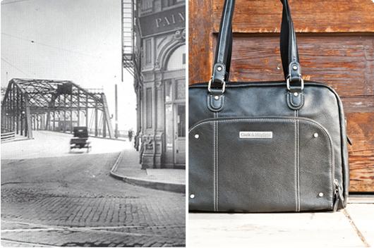 Historic Morrison Street Bridge  -  Morrison handbag