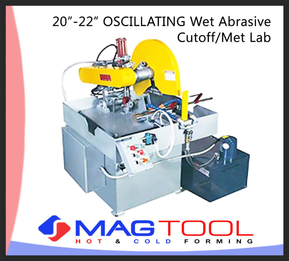 "20""-22"" OSCILLATING Wet Abrasive Cutoff/Met Lab"