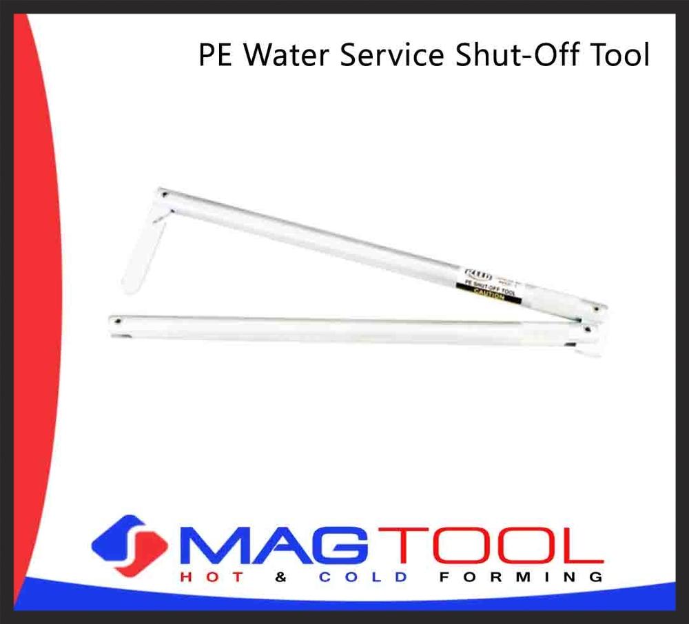 PE Water Service Shut-Off Tool