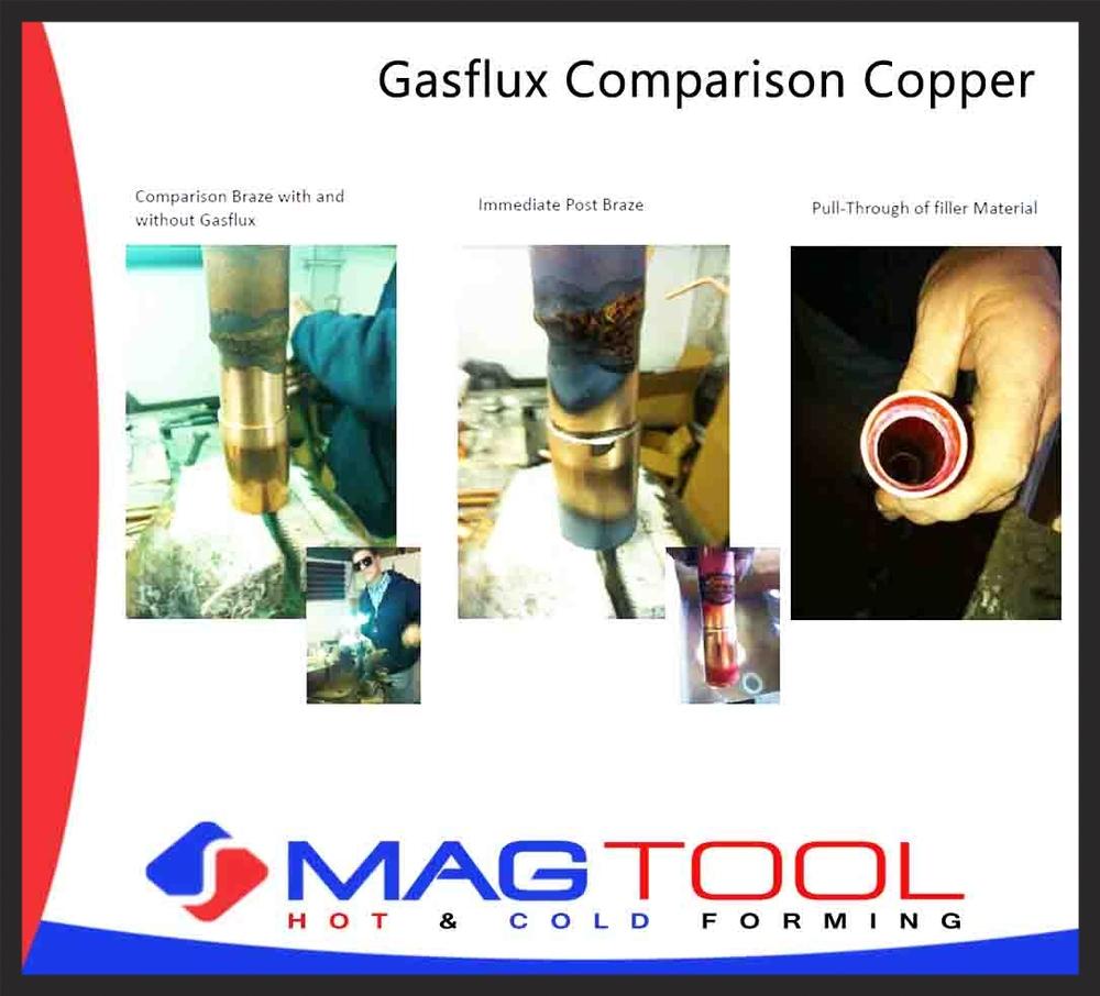 Gasflux Comparison Copper