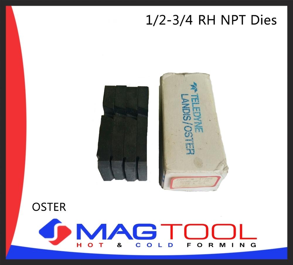 OSTER 1/2 TO 3/4 RH NPT DIES