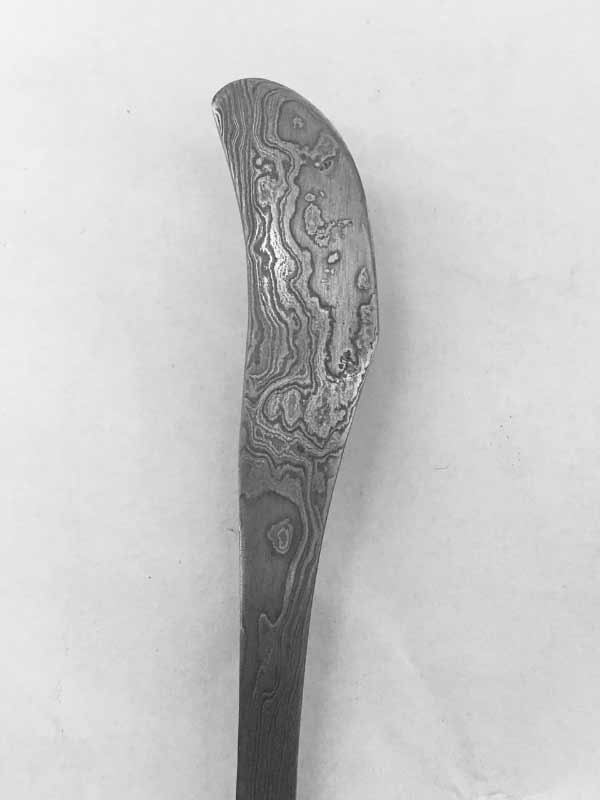 damascus knife, 2016