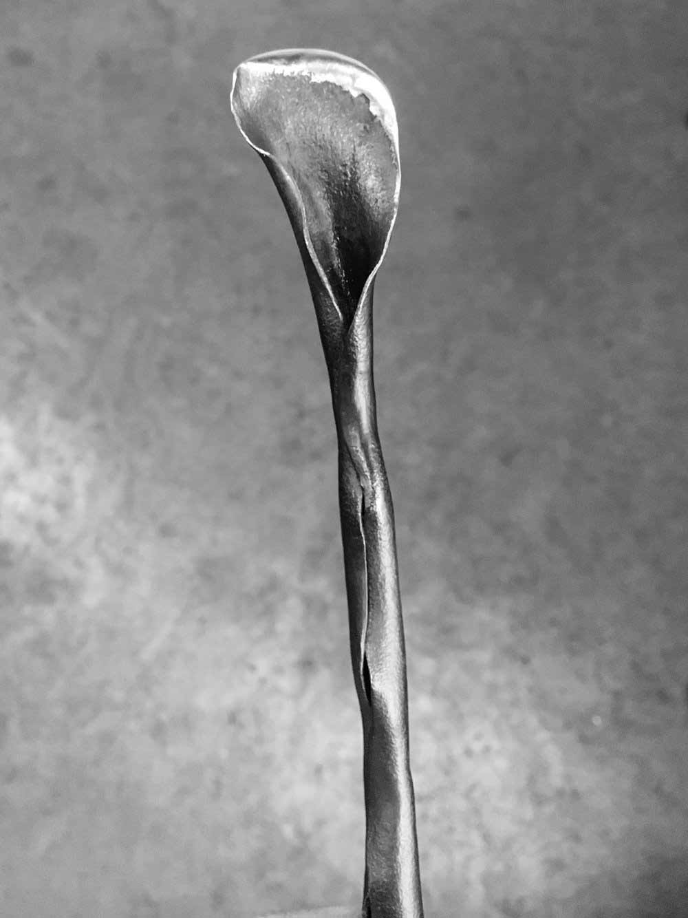 sculptural flower-knife, 2016