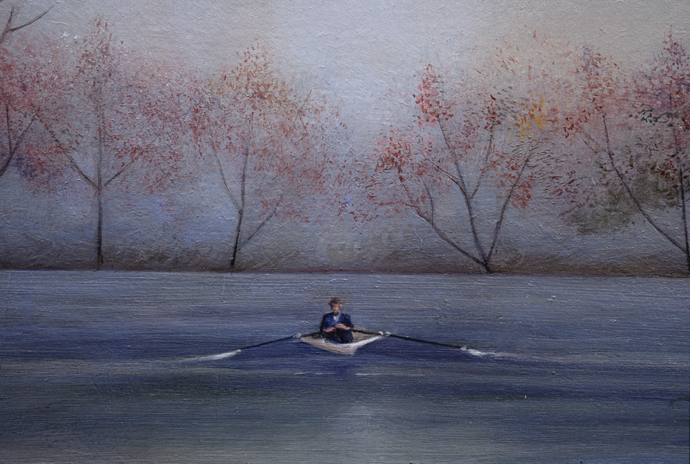 The Paddler (detail)