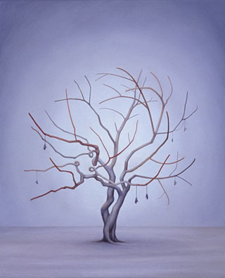 "DISTILLED: ""Mitten Tree"" is included in Laura Lasworth's solo exhibition at Hunsaker/Schlesinger."