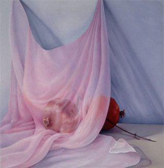 "Laura Lasworth's ""Veil and Pomegranates"" evokes lushness"