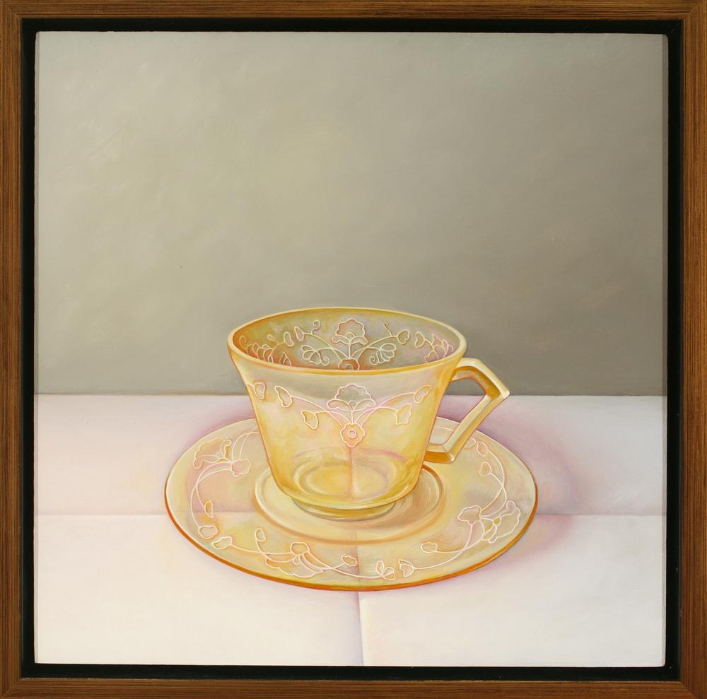 Depression Glass Teacup