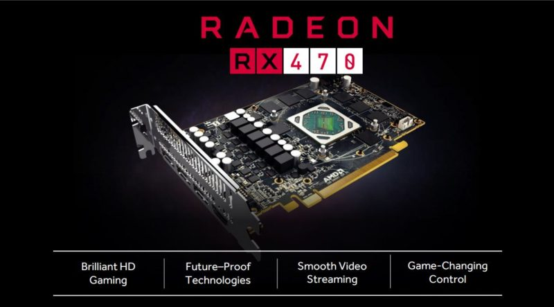 Above: AMD is positioning the 470 as a go-to device for 1080p60 gaming. Image Credit: AMD