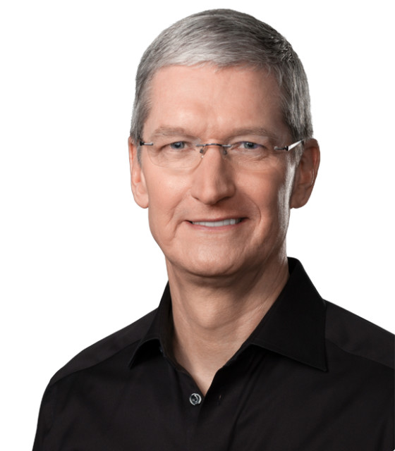 Apple's CEO Tim Cook confirmed interest in and pursuit of 3D technologies like augmented reality behind the scenes at the ultrasecretive company. (Image courtesy of Apple.)