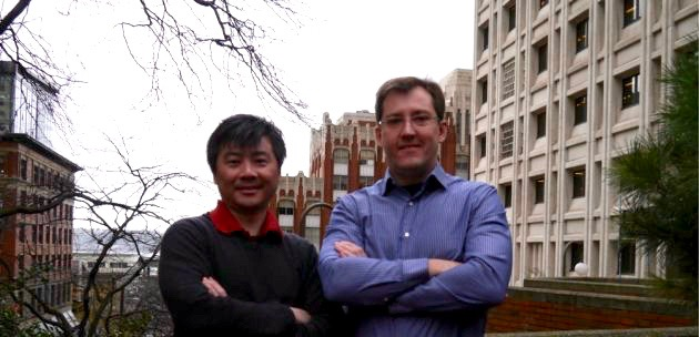 Context VR co-founders Dmitri Bouianov and Yinso Chen. (Context VR Photo)