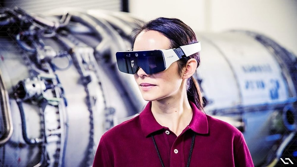 DAQRI Smart Glasses aiming for the industrial market with a $4,995 price tag.Image by DAQRI/Medium