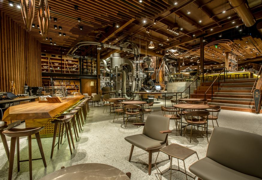 Starbucks Reserve Roastery Bar