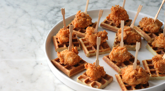 fried chicken and waffles ...mmmm - Photo courtesy of Pure Wow