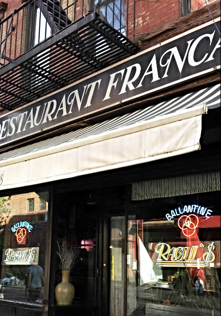 Raoul's -on Prince Street - Just Awesome one of so many Soho Restaurants  to try