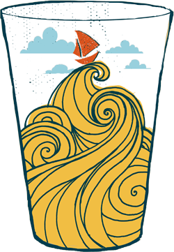logo design for downeast cider house