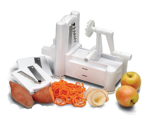 paderno-spiralizer from  Paderno World Cuisine