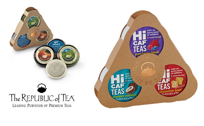 NEW HICAF FROM THE REPUBLIC OF TEA