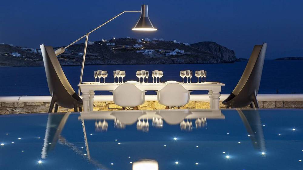 Greek Isles Dining Under the Stars