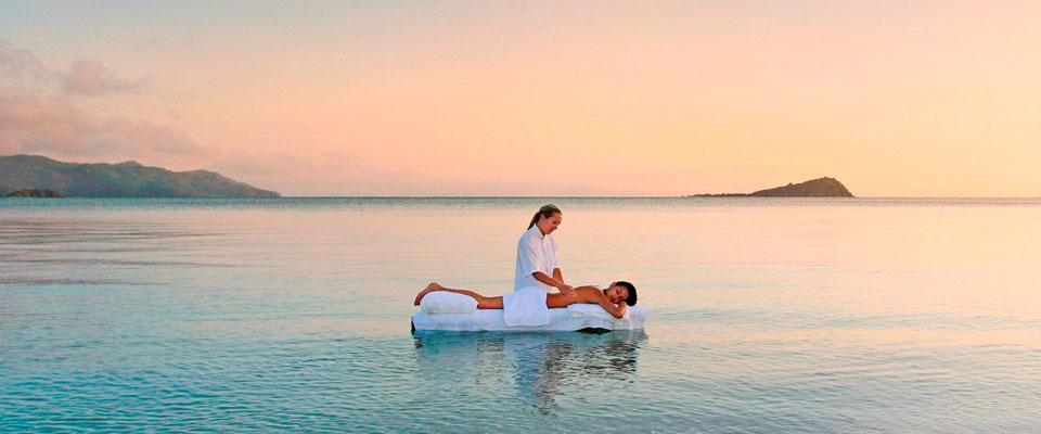 ocean massage at hayman Island