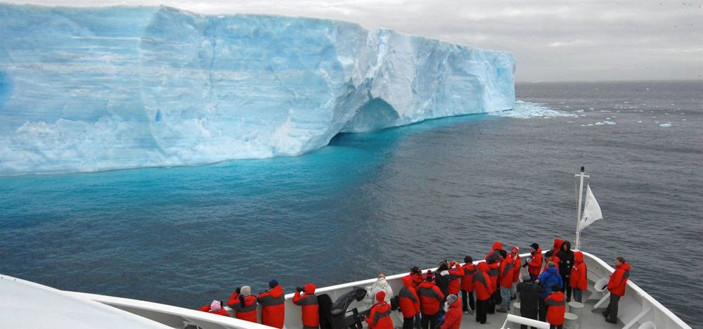 Magnificent Antarctica Blue Ice