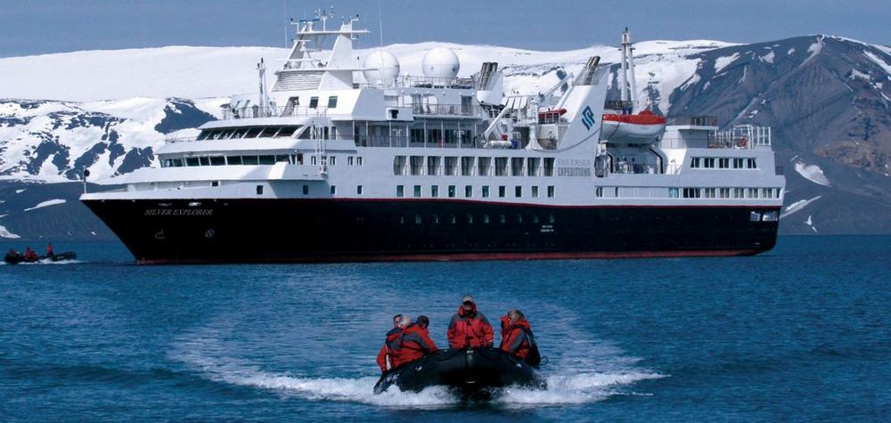 Antarctica Excursion to shore via  cool Zodiac ride