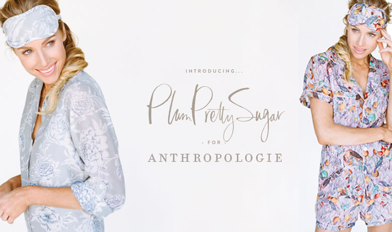 Plum Pretty Sugar has also created unique designs for Anthropologie
