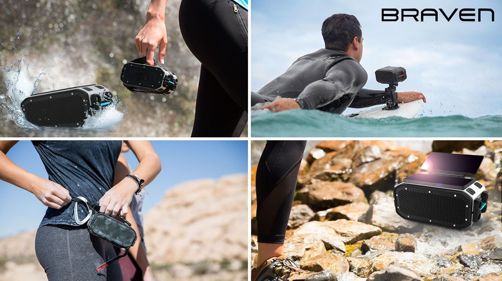 THE BRAVEN PRO IS FEARLESS AND VERSATILE.  YOU CAN USE IT ANYWHERE DURING most activities you love to do