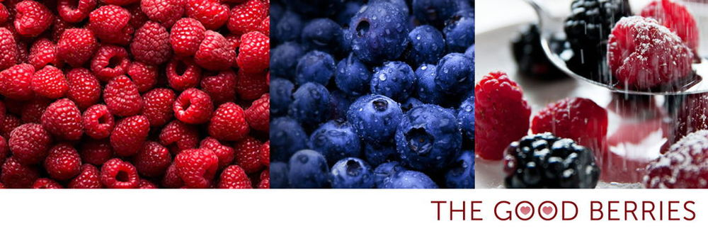 the good berries.  Blueberries, raspberries and strawberries are especially high in heart-protective carotenoids and flavonoids