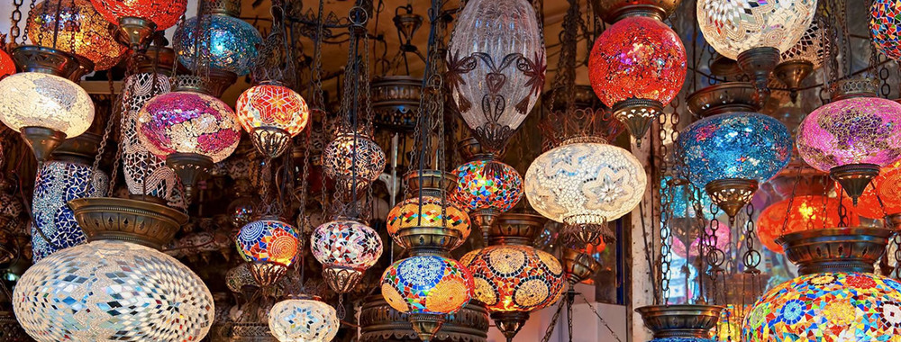 Lamps from The Grand Bazaar