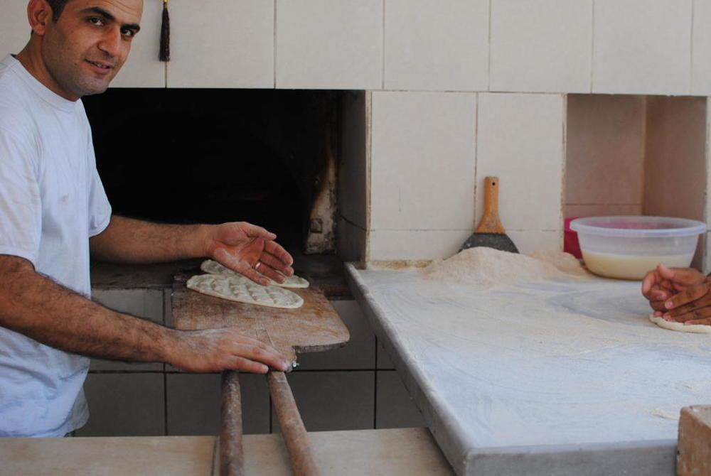 Master baker at Yöremiz Pide, Istanbul