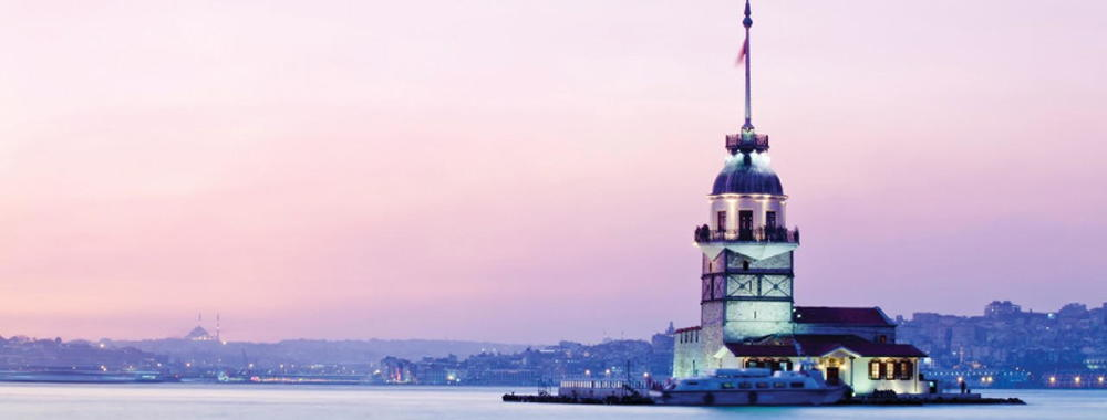 Maiden's Tower:  Built in the 12th century on a small islet located at the southern entrance of Bosphorus, Kız Kulesi was used as a surveillance tower during the siege of Constantinople in 1453.